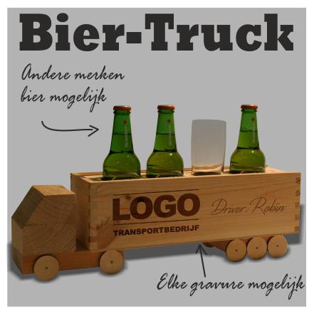 houten bier truck